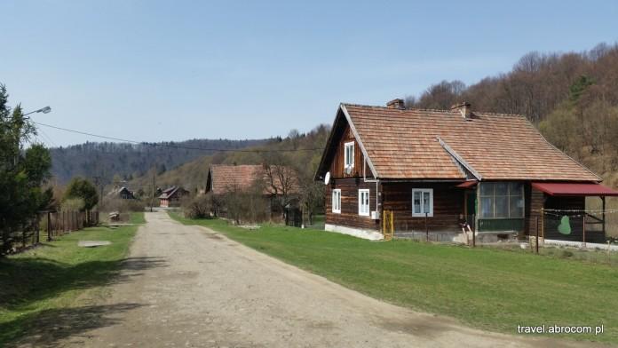 Mików, Smolnik, wioski w Bieszczadach